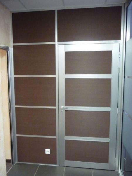 Cloison amovible vitr e de bureau open space isolation - Cloison amovible bureau pas cher ...